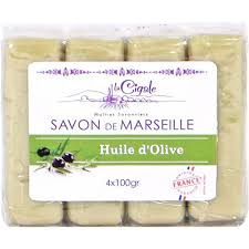 <b>Мыло La Cigale</b> Марсельское Олива 4x100 г (1002043908) купить ...