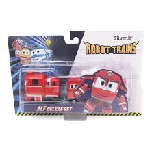 Robot Trains 80180 <b>Паровозик</b> с двумя вагонами <b>Альф</b>, <b>Silverlit</b> ...