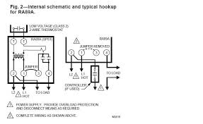 isolation relay wiring diagram for thermostat wiring diagram using single aquastat to control relay to turn oil boiler burner