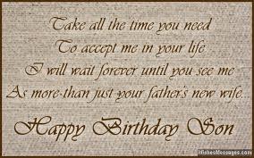 Birthday Wishes for Stepson – WishesMessages.com via Relatably.com