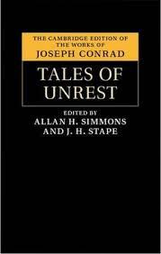 The Cambridge Edition of the Works of <b>Joseph Conrad</b>: <b>Tales of</b> ...
