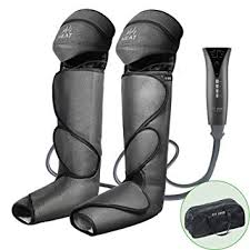 FIT KING <b>Foot</b> and Leg <b>Massager</b> for Circulation with <b>Knee</b> Heat FT ...