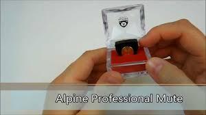 Alpine <b>Professional violin mute</b> - YouTube