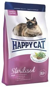 <b>Корм</b> для стерилизованных кошек <b>Happy Cat</b> 10 кг — купить по ...