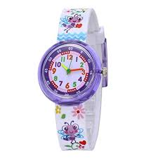 Cute Cartoon Watches for Kids - Lovely Bees Watches ... - Amazon.com