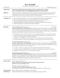 contractor resume sample template contractor resume sample