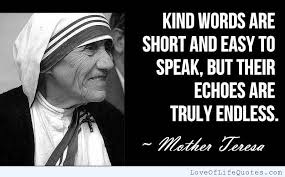 Mother Teresa Quotes On Life. QuotesGram via Relatably.com