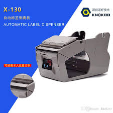 2019 KNOKOO <b>X 130</b> Label Stripper, <b>Automatic</b> Label Dispenser 5 ...
