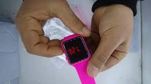 Unboxing of V5 Brand Unisex Rubber <b>LED Bracelet Digital</b> Wrist ...