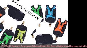 <b>JY</b>-27B ABS + Electronic Components <b>Wireless Fishing</b> Bite Alarms ...