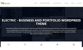 best resume vcard portfolio wordpress themes inkthemes electric resume