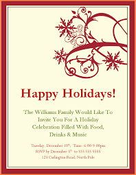 holiday invitation templates christmas party invitation uploaded by naila arkarna