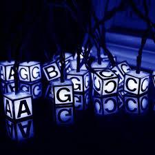 30 LED Solar Light Strings Letter <b>Printed Christmas Waterproof</b> ...