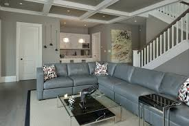 muskoka cottage contemporary fully buried basement idea in toronto with gray walls check 35 home bar design