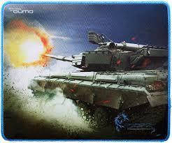 Купить <b>коврик</b> для мыши <b>Qumo</b> Dragon War Tank (20974) по ...