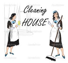 cleaning service stock vectors royalty cleaning service cleaning service women cleaning room vector illustration of a maids cleaning the room