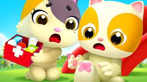 Baby Got a Boo Boo   Doctor <b>Cartoon</b>   <b>Nursery</b> Rhymes   Kids ...