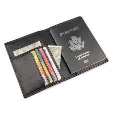 <b>EMMA YAO</b> women's <b>leather</b> passport cover handmade wallet case ...
