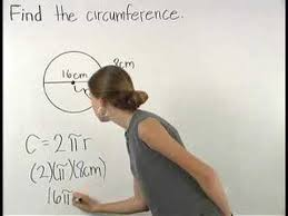 Circumference of a Circle - MathHelp.com - Math Help - YouTube