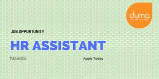 job vacancy human resource assistant duma works job vacancy human resource assistant