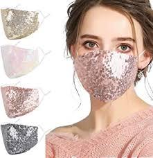 sequin mask - Amazon.com