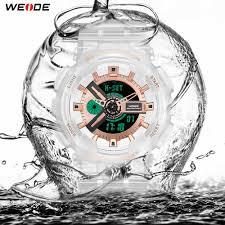 <b>WEIDE Military Mens</b> Watches <b>Sport</b> Digital 50M Waterproof ...
