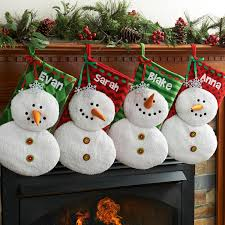 household dining table set christmas snowman knife: personalized plush snowman christmas stocking available in multiple colors walmartcom