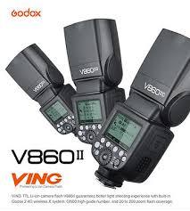 Godox V860II 2.4G TTL Li-on Battery Camera Flash Speedlite for ...