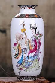 Vintage <b>Chinese Style Ceramic Vase</b> | Ceramic vase, Vase, Decor