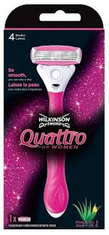 Купить Wilkinson Sword <b>Quattro for</b> Women <b>бритвенный станок</b> в ...