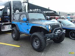Jeep Rock Crawler The General A Custom 2009 Mopar Jeep Wrangler Rock Crawler