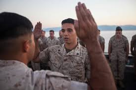 first term marines slow sign another enlistment