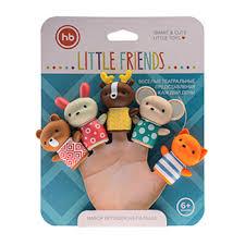 <b>Набор игрушек</b> на пальцы <b>Happy Baby</b> Little Friends, Китай ...