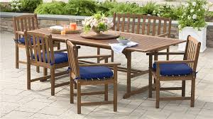 patio table and 6 chairs: main image for lancaster extension table set extension table and  chairs