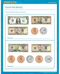 Count the Money – Free Printable Money Worksheet for 4th Grade ...Count the Money - Free Money Worksheet for 4th Grade
