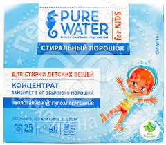 Купить <b>Стиральный порошок Pure Water</b> для детского белья 800г ...