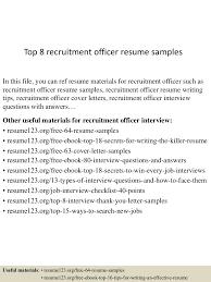 toprecruitmentofficerresumesamples conversion gate thumbnail jpg cb