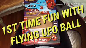 <b>Flying UFO Ball</b> - 1st Time Fun - YouTube