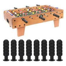 <b>8 pcs Table Soccer</b> Handle Replacment Parts Table Soccer Plastic ...
