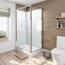 cabinets uk cabis: glass backed rectangular shower cabin  x