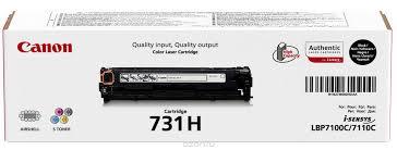 <b>Тонер</b>-<b>картридж Canon 731</b> H (6273B002), черный, для ...