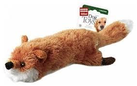 <b>Игрушка</b> для собак <b>GiGwi Dog Toys</b> Лиса с бутылкой (75016 ...