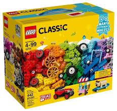 <b>Конструктор LEGO Classic</b> 10715 <b>Модели</b> на колёсах — купить по ...