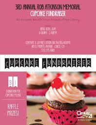 cupcake fundraiser flyer cat cupcake fundraiser flyer 04