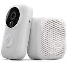 Xiaomi AI Face Identification 720P Doorbell Set White Doorbells ...