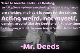 mr. deeds :) the greatest love poem. | How Lovely Are We | Pinterest