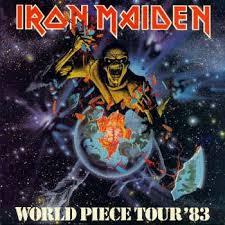 | The <b>Iron Maiden</b> Commentary | Tours | World <b>Piece</b> Tour 1983 ...