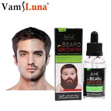 30ML Natural Organic Men Beard Growth Oil Beard Wax balm Hair ...