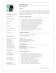 latest resume format for experienced accountant cipanewsletter resume examples for accounting professionals experience resumes