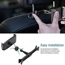 FidgetGear Adjustable Phone Tablet Stand <b>Car Rear Seat</b> Holder ...